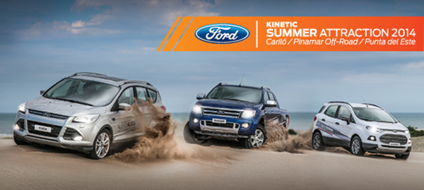 Experiencia Ford Kinetic Summer Attraction 2014