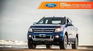Comenzó el Ford Kinetic Summer Attraction