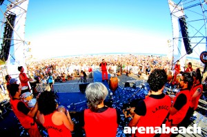 Así fue QUILMES SUNSET PARTY arenabeach