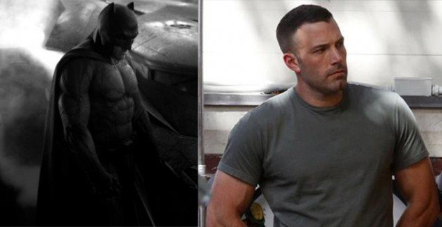Ben Affleck, el Batman...