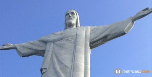 InstanBrazuca en el Cristo Redentor