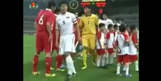 Corea del Norte en la Final, en video