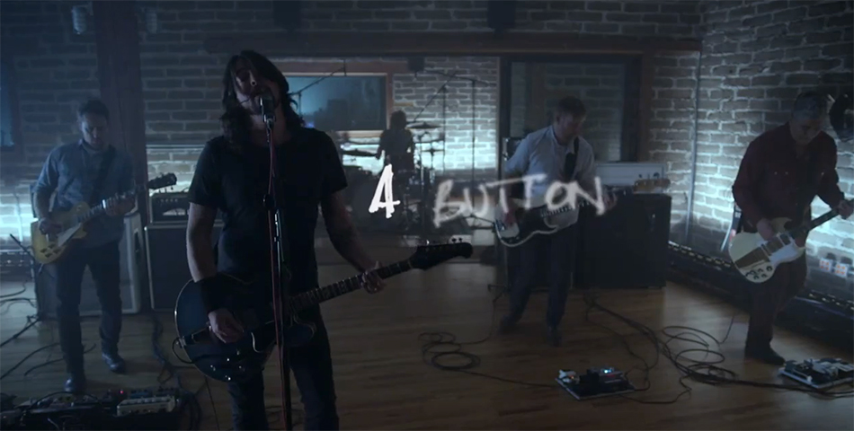 """Foo Fighters presentó """"Something From Nothing"""""""