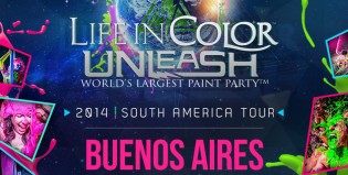¿Con ganas de ir al Life in Color Unleash?