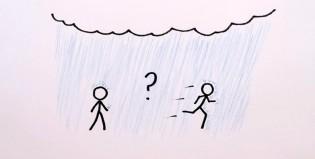 ¿Correr bajo la lluvia ayuda?