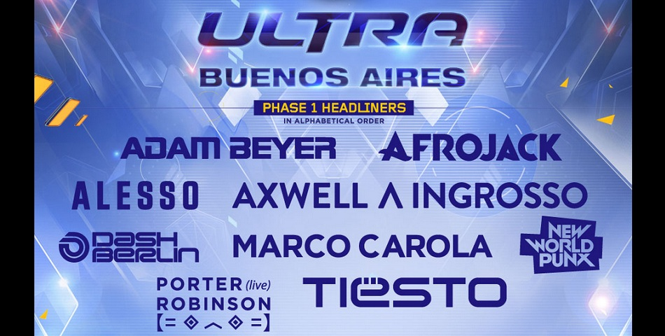 Ultra Buenos Aires: line up