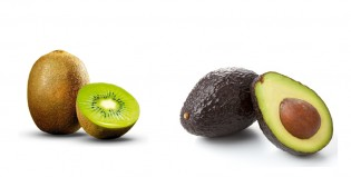 Pelá un kiwi o una palta de manera perfecta