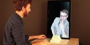 Mové objetos a través de telepresencia