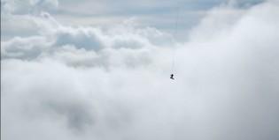 Snowboard volador
