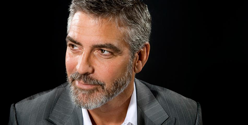 George Clooney, un experto en bajarla