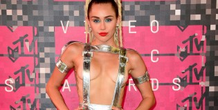Hablemos del vestido que Miley Cyrus usó en los MTV Video Music Awards