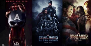 Posters alternativos de Captain America: Civil War