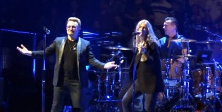 U2 y  Patti Smith juntos