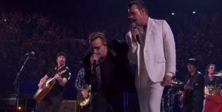 U2 y Eagles of Death Metal juntos en París