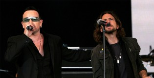 Pearl Jam tocó un tema de U2