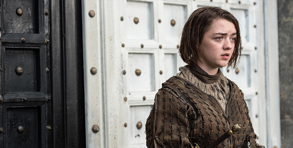 Maisie Williams habla de Jon Snow