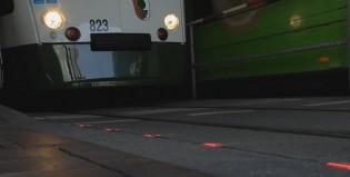 Una ciudad alemana instaló semáforos en el piso para los adcitos al celular