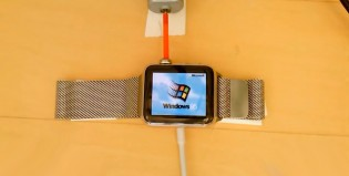 Milagro: instalaron Windows 95 en un Apple Watch