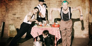 """We turn red"", otro estreno de los Red Hot Chili Peppers"