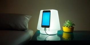 UpLamp, el gadget que transforma tu celu en una lámpara smart