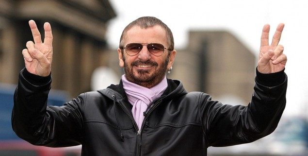 File photo dated 11/01/08 of Ex-Beatle Ringo Starr, who in an interview with the Los Angeles Times has revealed his spiritual side. PRESS ASSOCIATION Photo. Issue date: Wednesday February 3, 2010. Starr told how he had been looking for enlightenment since he was riding high in the charts more than 40 years ago. See PA story SHOWBIZ Ringo. Photo credit should read: Peter Byrne/PA Wire