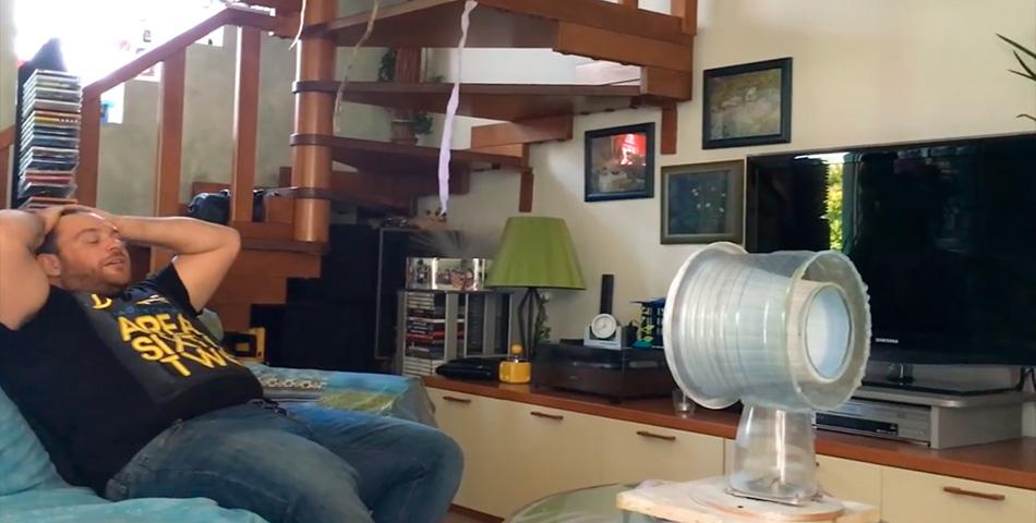 Aprendé a hacer tu propio ventilador con materiales reciclables