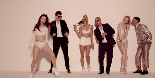 Blurred Lines - Thicke