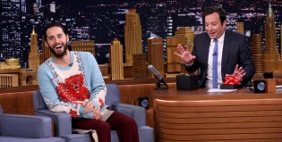 Jared Leto y un peligroso regalo para Jimmy Fallon