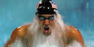 ¿Qué escucha Phelps antes de salir a competir?