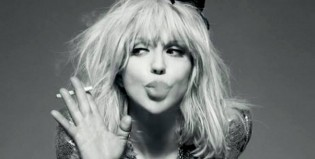 "Courtney Love interpreta ""Never Go Hungry"" de Hole en la casa de Chris Pratt y Anna Faris"