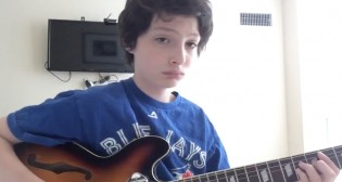 Finn Wolfhard de Stranger Things, subió un video recordando a Nirvana