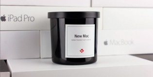 Chequeadísimo: crearon una vela con fragancia a dispositivos Apple nuevos