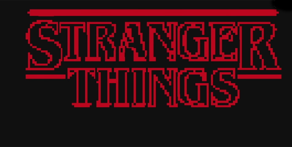 Genialidad: reviví Stranger Things en 8 bits