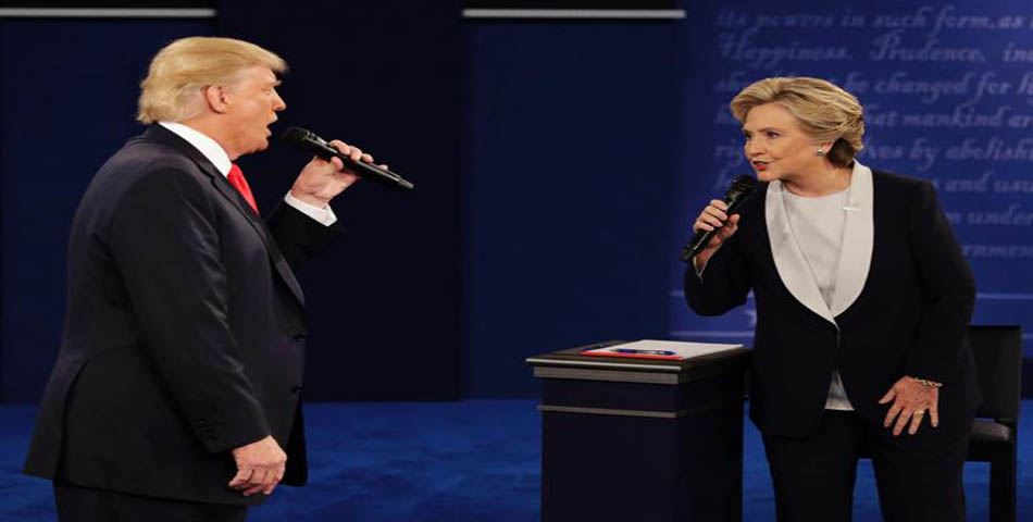 "Trump y Hillary hicieron un espectacular dúo y cantaron: ""Time Of my Life"""