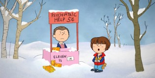 Imperdible video inspirado en Charlie Brown y Stranger Things