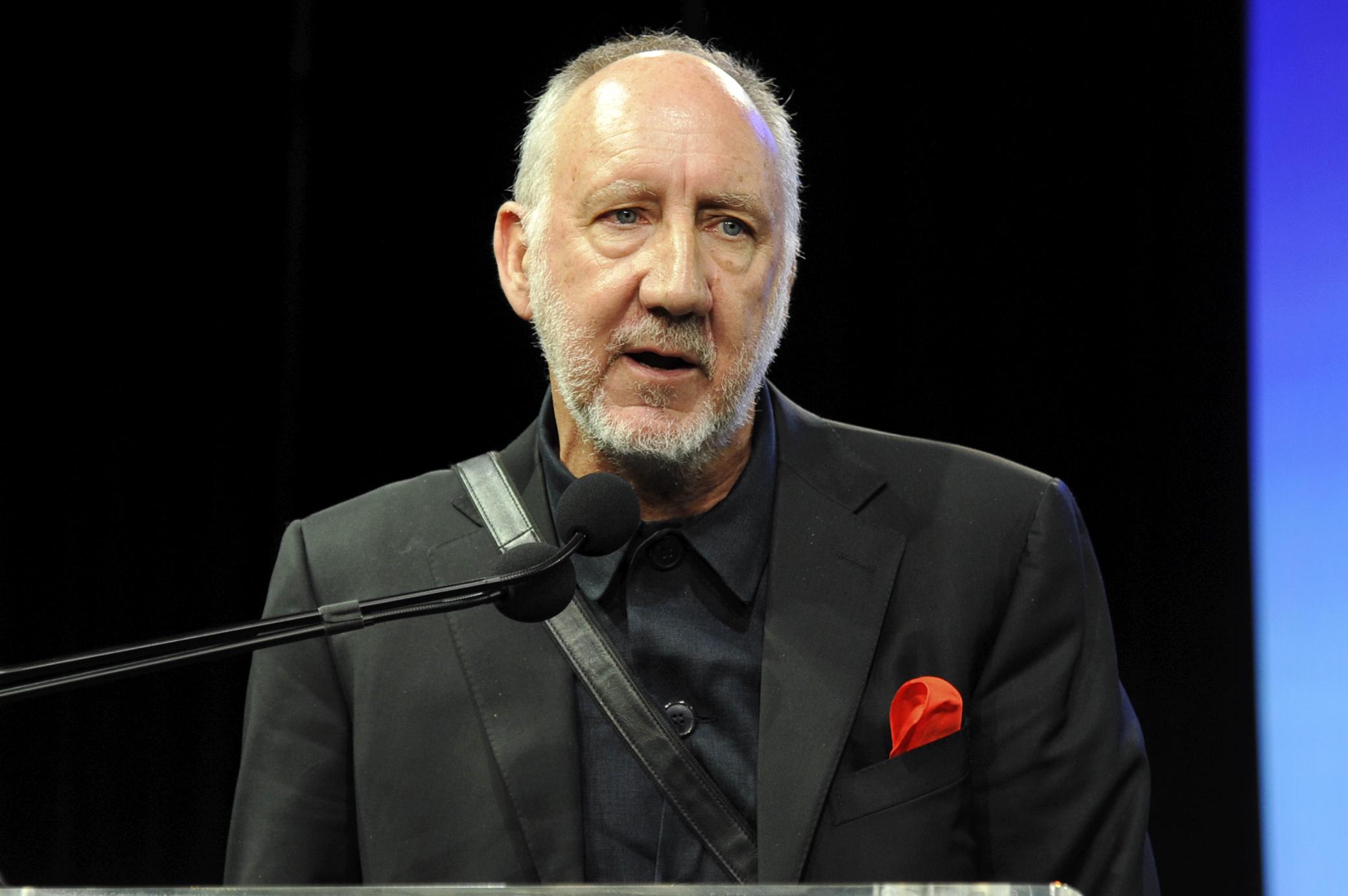 """Pete Townshend: """"No me gusta tocar en vivo"""""""