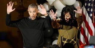 """Los Obama bailan """"Thriller"""" en su último Halloween en la Casa Blanca"""