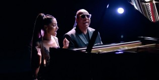"Ariana Grande y Stevie Wonder, juntos en ""Faith"""