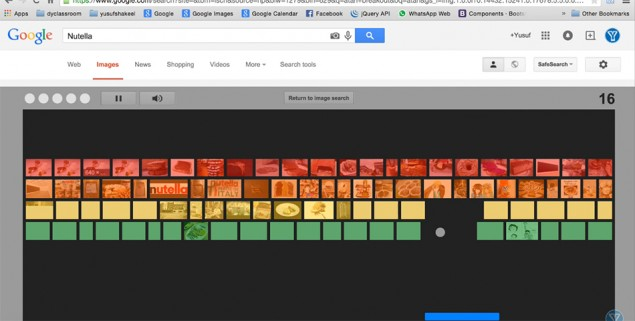 Los secretos de google algunos juegos para jugar en la for Juego de golf para oficina