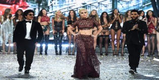 Lady Gaga, The Weeknd y Bruno Mars cantaron entre los ángeles de Victoria's Secret