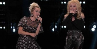 Miley Cyrus y Dolly Parton cantan Jolene en The Voice