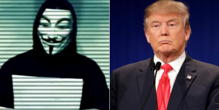 Anonymous y una durísima amenaza a Donald Trump