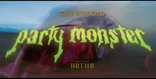 The Weeknd estrenó el video de Party Monster