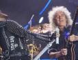 BARCELONA  22 05 2016 Concierto de QUEEN en el Palau Sant Jordi  Adam Lambert y Brian May  FOTO FERRAN SENDRA