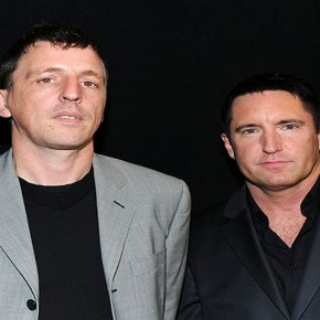 CENTURY CITY, CA - JANUARY 15:   Composers Atticus Ross and Trent Reznor arrive at the 36th Annual Los Angeles Film Critics Association Awards at the InterContinental Hotel on January 15, 2011 in Century City, California.  (Photo by Alberto E. Rodriguez/Getty Images) *** Local Caption *** Atticus Ross;Trent Reznor