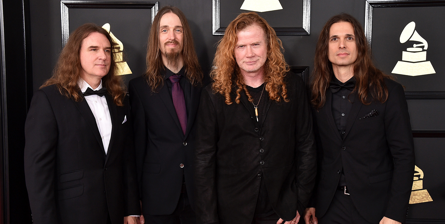 Papelón en los Grammys: ¡ganó Megadeth y sonó Metallica!