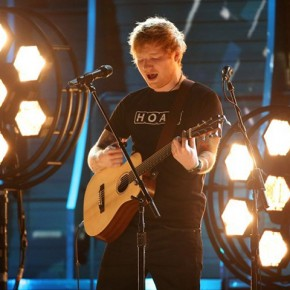 Ed Sheeran performs at the 59th Annual Grammy Awards in Los Angeles, California, U.S. , February 12, 2017. REUTERS/Lucy Nicholson
