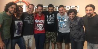 Un lujo: Palo Pandolfo y La Hermandad tocaron en Basta de Todo