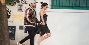 Lollapalooza: The Weeknd ya está en Buenos Aires junto a Selena Gómez y los paparazzi los captaron a los besos
