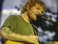 BRISBANE, AUSTRALIA - NOVEMBER 28:  Ed Sheeran performs at Suncorp Stadium on November 28, 2015 in Brisbane, Australia.  (Photo by Glenn Hunt/Getty Images)